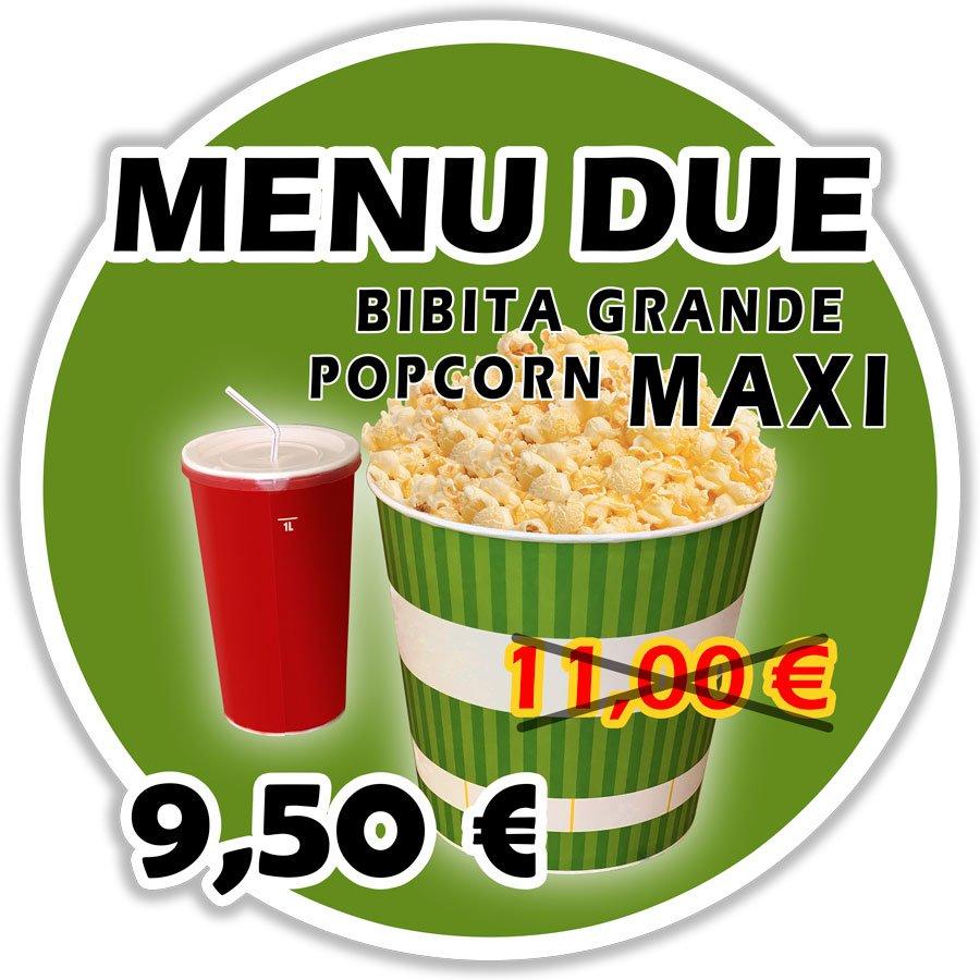 menu due
